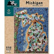 Puzzles That Rock 550 Piece Puzzle - Michigan Natures (Made In The Usa)