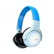 HEADPHONES, Philips, Bluetooth, Microphone, Blue (TAKH402BL)
