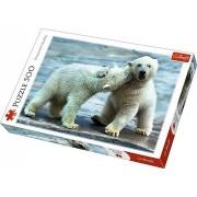 Trefl Puzzle Polar Bears 500