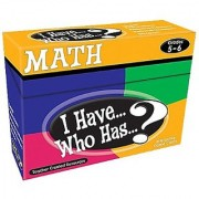 Teacher Created Resources I Have... Who Has...? Math 5-6 (7834)