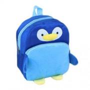Navy Blue Penguin Baby Bag Stuffed Soft Plush Toy