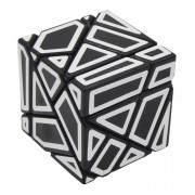 No toxico Ghost Magic IQ Cube Toy - Negro