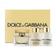 Dolce & Gabbana The One 75Ml Edp 75Ml + 100Ml Lozione Corporale + 100Ml Docciaschiuma Per Donna (Eau De Parfum)