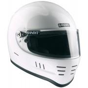 Bandit SA Snell Motorcycle Helmet Motorcykel hjälmen Vit 2XL