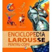 Enciclopedia Larousse pentru copii Corint numar pagini 128