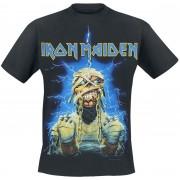 Iron Maiden Powerslave Mummy Herren-T-Shirt - Offizielles Merchandise S, M, L, XL, XXL Herren