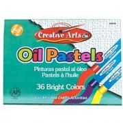 Charles Leonard Oil Pastels Ap Certified Assorted Colors 36/Box (90536)