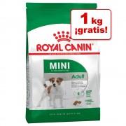 Royal Canin Mini Adult 9 kg en oferta: 8 + 1 kg ¡gratis!.- 8 + 1 kg ¡gratis!