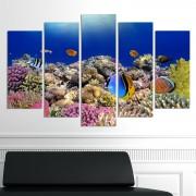Декоративен панел за стена с уникален изглед от морското дъно Vivid Home