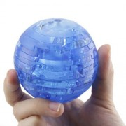 3d Crystal Puzzle Jigsaw Model Earth Globe Planet Blue 40 Pcs Kid Toy Decoration for Christmas Gift