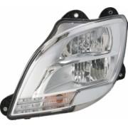 Far stanga H1/LED/PY21W manual fundal crom culoare Semnalizator transparent DAF CF XF dupa 2012
