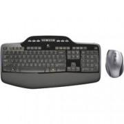 Logitech Sada klávesnice a myše Logitech MK710 Wireless Desktop, černá