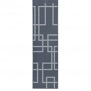 SiGN Hey-Sign Stamp Flächenvorhang - eckiges Lochmuster 01 anthrazit