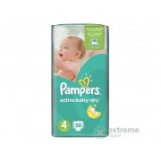 Pampers Active Baby-Dry pelene 4 maxi 58 kom