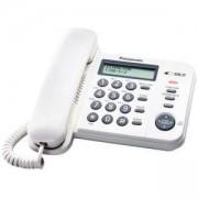 Стационарен телефон Panasonic KX-TS560FXW, бял 1010027_1