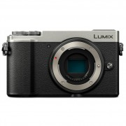Panasonic Lumix DMC GX9 Body Only - Silver (PAL)