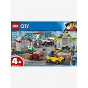 Lego 60232 CITY O centro automobilístico da Lego City azul claro estampado