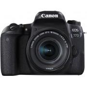Canon Eos 77d + 18-55mm F/4-5.6 Is Stm - 2 Anni Di Garanzia