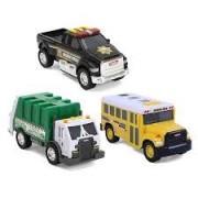 Set 3 Minimodele Vehicule Interventie - TONKA