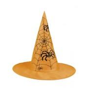 Palarie Vrajitoare Halloween portocalie