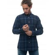 Barbour Camicia casual BACAM3315 Blu Cotone Uomo