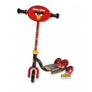 Trotineta cu 3 roti si ghidon reglabil Angry Birds Saica