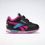 Reebok Royal Classic Jogger 2.0 Schoenen - Black / Proud Pink / California Blue - Size: 19.5,20,21.5,22,22.5,23.5,24,21,24.5,25,25.5,26,26.5