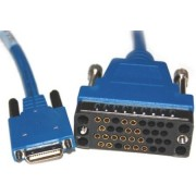 Cable de red Cisco macho/hembra azul de 3mt, CAB-SS-V35FC=