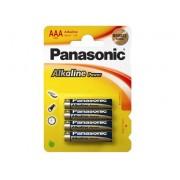 Baterie R03 Panasonic Alkaline Power - 4 sztuki