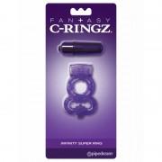 Fantasy C-ringz silikonski prsten za penis sa vibracijom PIPE586112