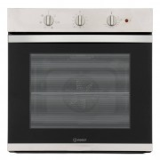 Indesit KFW3543HIXUK Single Built In Electric Oven - Stainless Steel