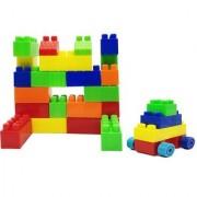 Share Emob 27 PCS Colorful Interlocking Puzzle Bulding Block Set Toy for Kids (Multicolor)