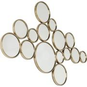 Kare Design Bubbles Spiegel - B138xH93 Cm - Messing Goud