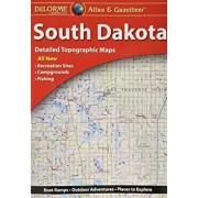 Delorme South Dakota Atlas and Gazetteer: Desd, Paperback/Rand McNally