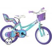 """Bicicleta copii Dino Bikes, Roti 16"""", FROZEN"""