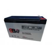UPS BATTERY, SBat, 12V/7.2AH (SBAT12-7,2)