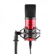 MIC-900-RD USB Condensatore Microfono Rosso Rene Studio