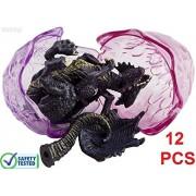 WolVol Dragon Dinosaurs - Set of 12 Eggs Take Apart Dinosaur Toys for Kids
