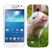 Husa Samsung Galaxy S4 Mini i9190 i9195 Silicon Gel Tpu Model Little Pig