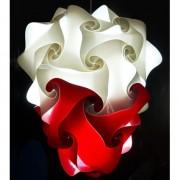 Lampadesign.com Lampadario design colorato PUGNALE da soffitto per camera da letto 45 h 60 cm MONTATO colori a scelta
