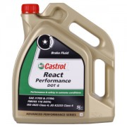 Castrol REACT Performance DOT 4 5 Litre Can