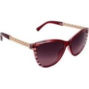 Olvin Cat-eye Sunglasses(Red)