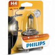Philips MotoVision 12342PRBW +30% H4 bliszteres