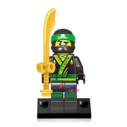 Generic 50pcs Ninja Masters of Spinjitzu Movie Kai Jay Cole Zane Lloyd Wu NYA Ronin GARMADON Building Block Bricks for kit Children Toys EG001