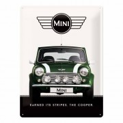 Mini Cooper Muurplaatje Mini Cooper