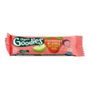 Organix Goodies baton ecologic din ovaz integral cu mere si capsuni, 1 an+, 30 g