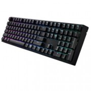 Клавиатура CoolerMaster Storm MasterKeys Pro L Red, механична, подсветка, гейминг, черна, USB