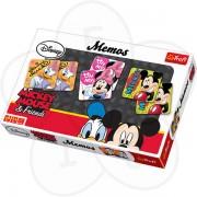 Trefl igra memorije Memos Mickey Mouse