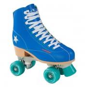 Lobbes Hudora Disco Rolschaatsen Blauw/Mintgroen, maat 37