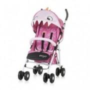 CHIPOLINO Kišobran kolica za bebe ERGO 6+ pink baby dragon 710104